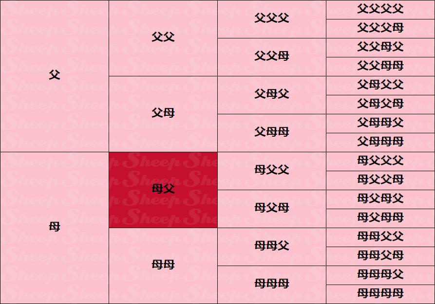 母父○ | ウイニングポスト6攻略 Sheep(2008/2006/2005対応)